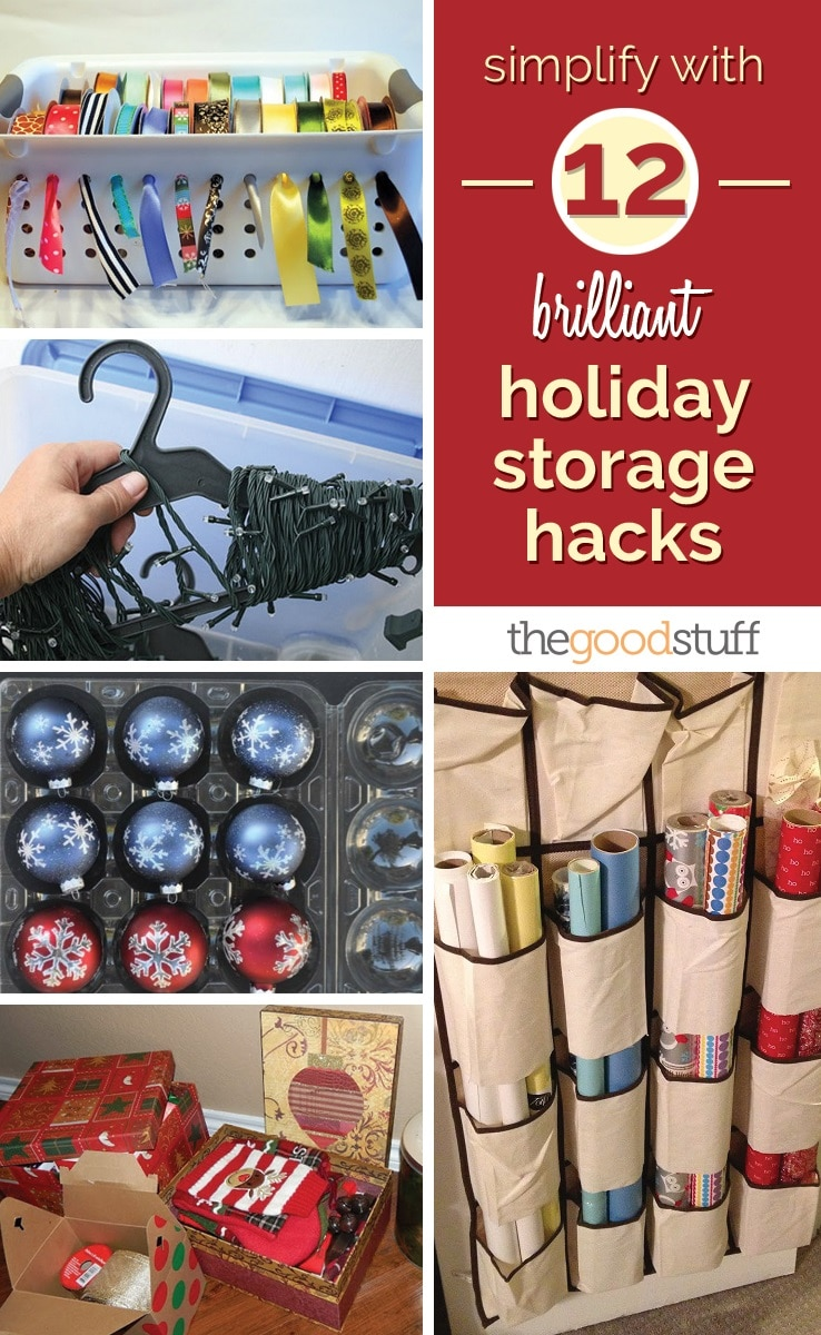 Simplify With 12 Brilliant Holiday Storage Hacks