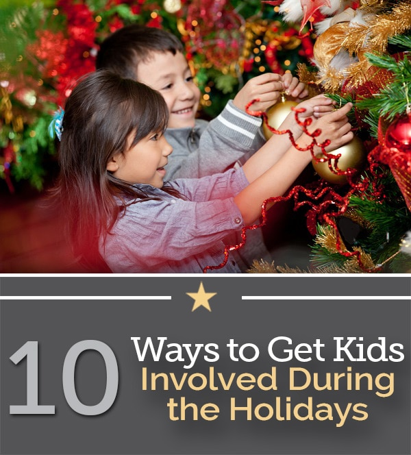 get kids involved