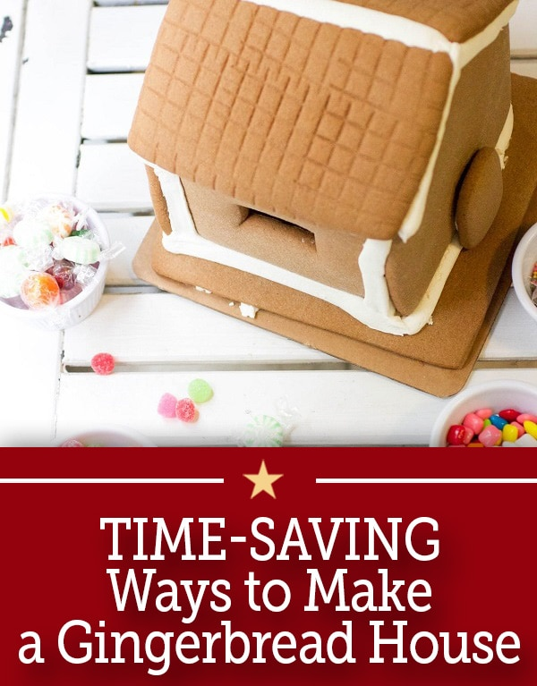 Time saving ways to make a gingerbread house for Ways to save for a house