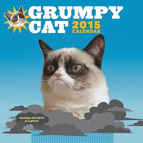 Grumpy Cat Calendar