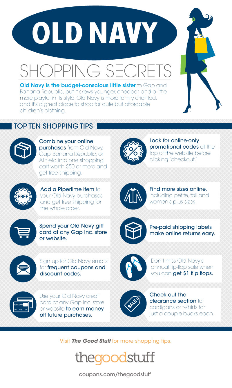 Old Navy Shopping Secrets - thegoodstuff