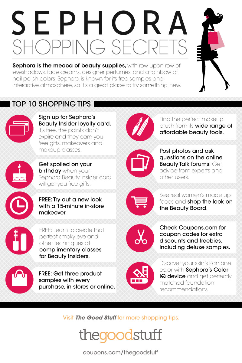 Sephora Shopping Secrets