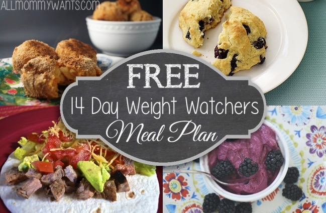 14-Day Weight Watchers Meal Plan