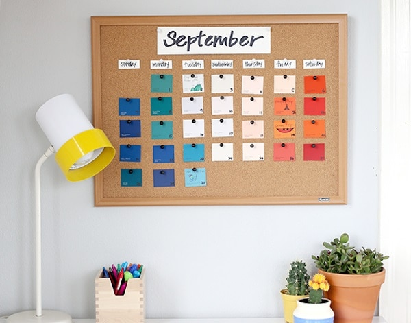 Diy Year Calendar : Diy planners and calendars for new year s organizing