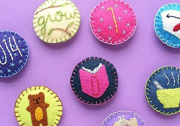 Embroidered Merit Badges