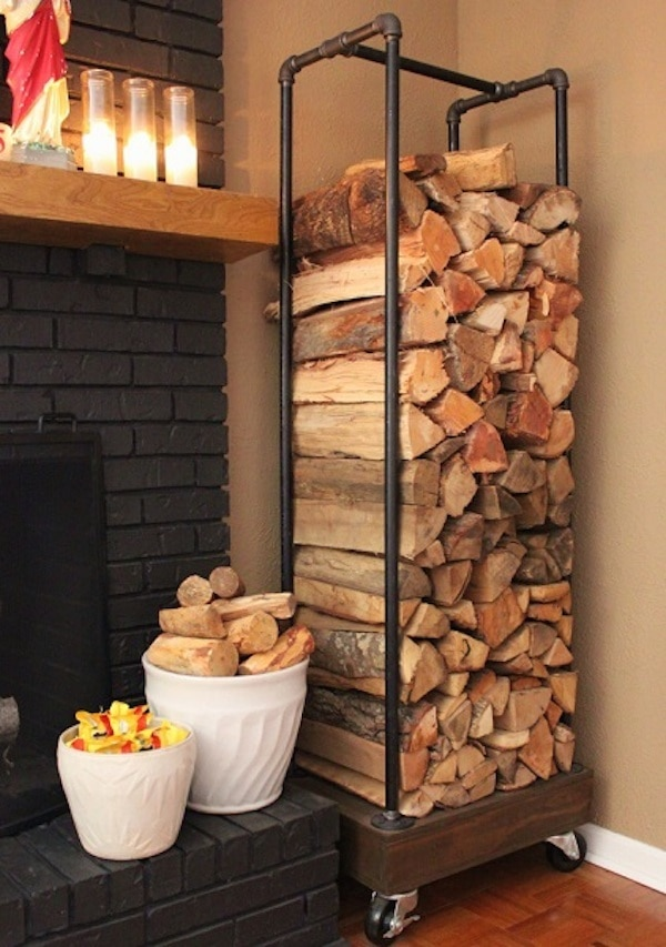Firewood Log Holder