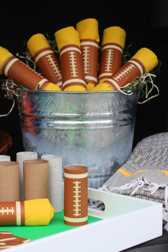 Football T-Shirt Party Favors