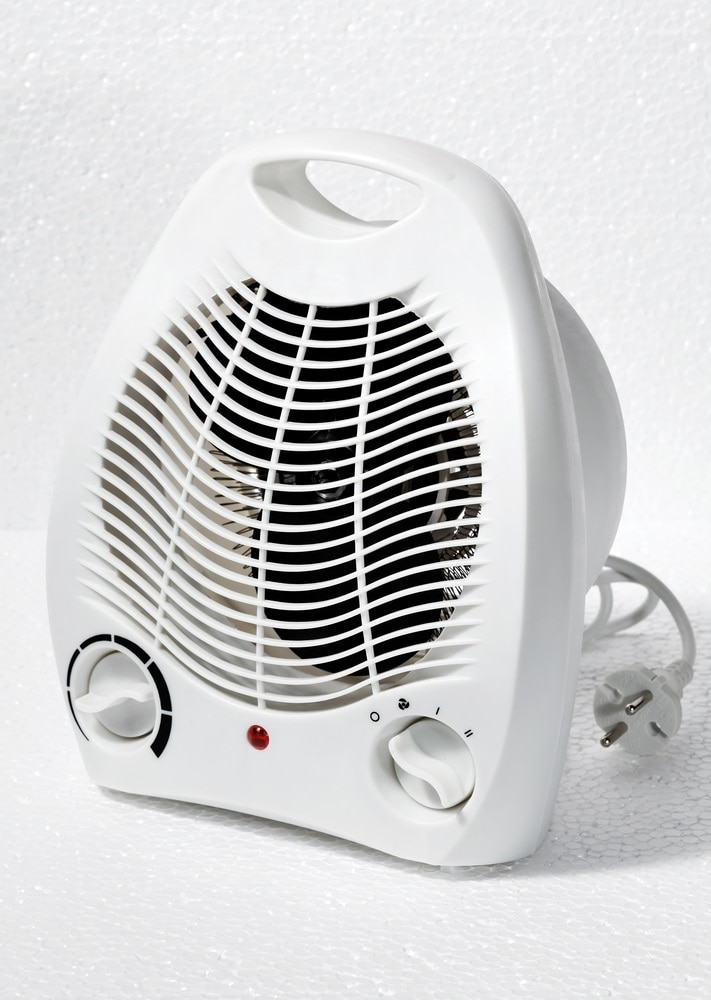 Give Your Portable Heater Some Space
