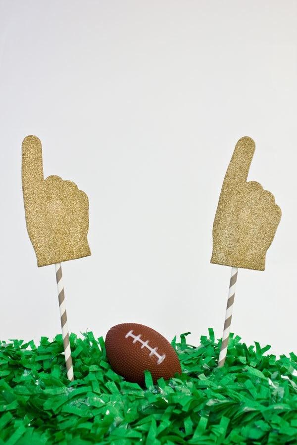 Glitter Foam Fingers