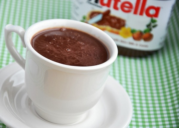 Make Hot Cocoa with Nutella