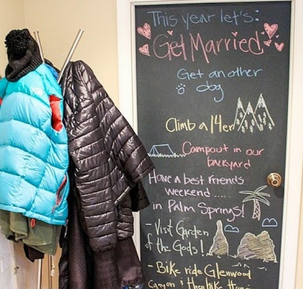 Over-sized Chalkboard