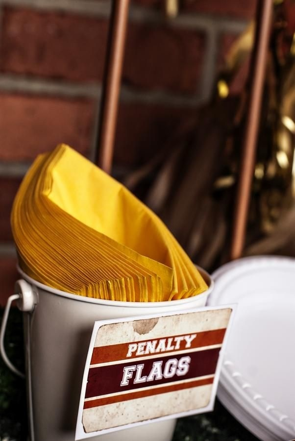 Penalty Flag Napkins