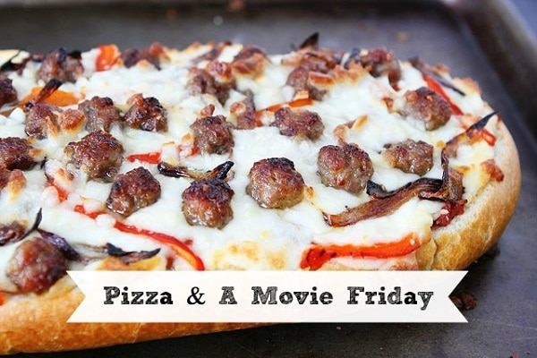 Pizza and a Movie Friday