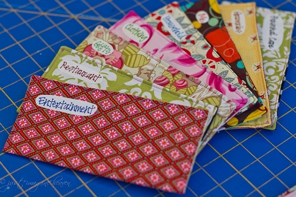 Pretty Fabric Envelopes