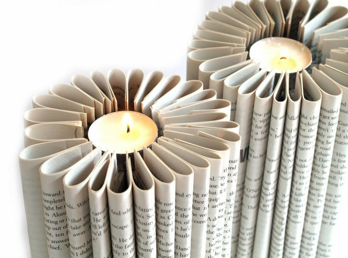 Rolled Book Pages