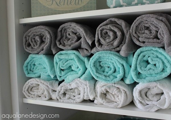 15 Tips For Organizing Your Linen Closet: Towel Storage Ideas | Thegoodstuff