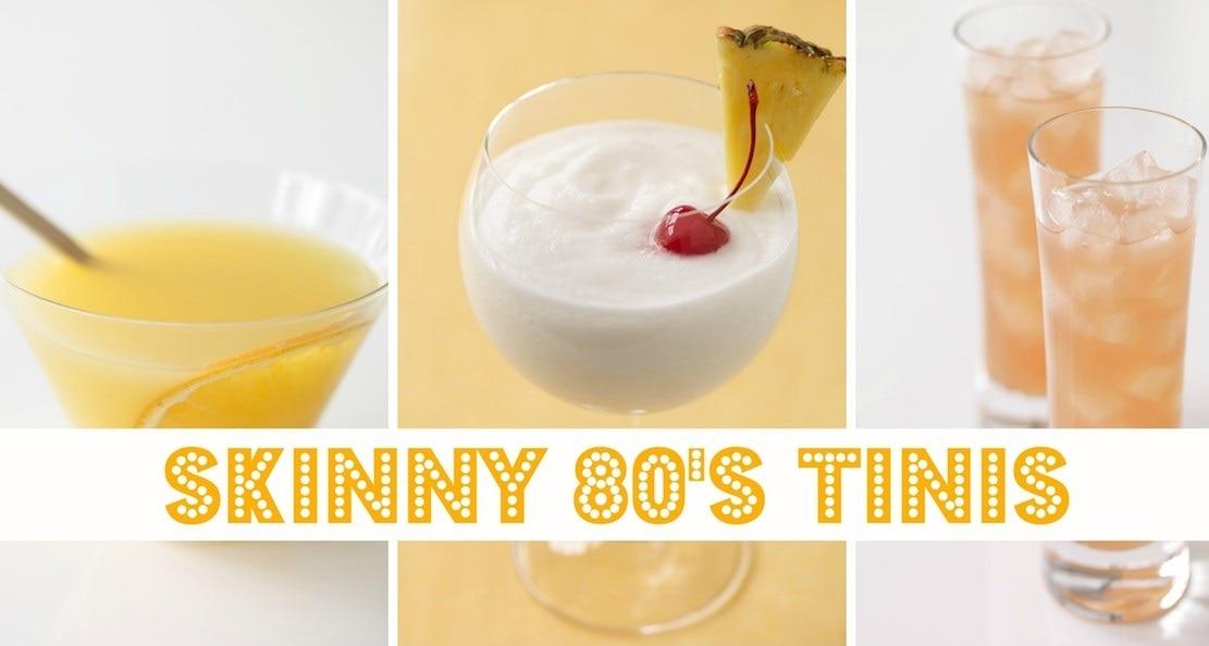 Skinny 80s Cocktails