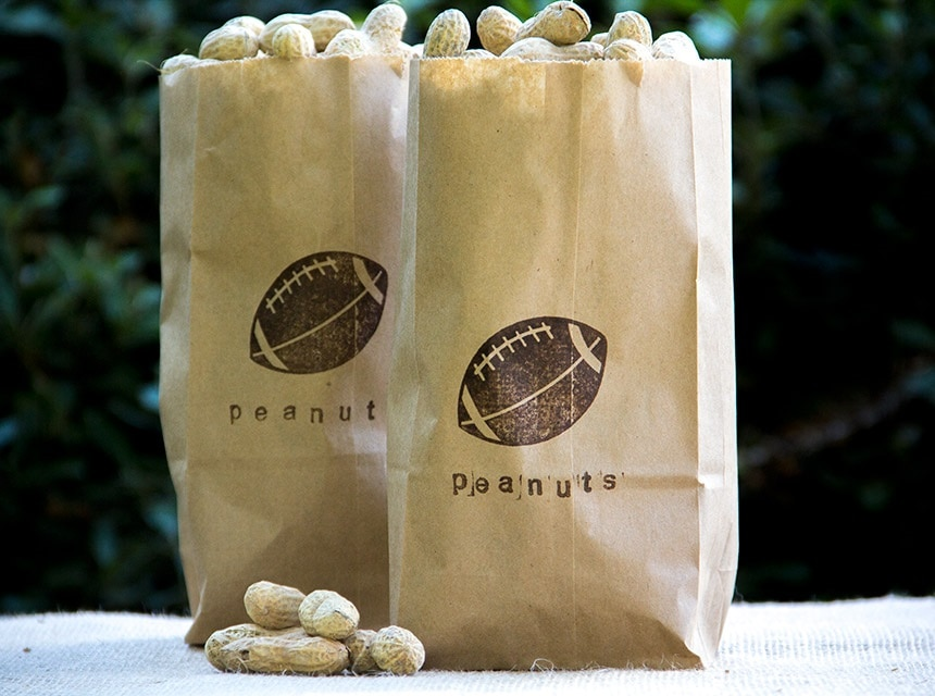 Stamped Snack Bags