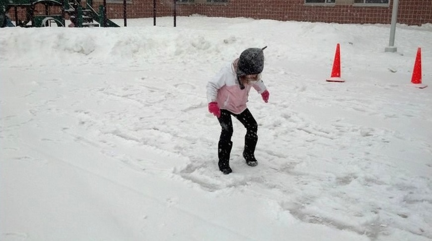 Try Out Snow Hopscotch