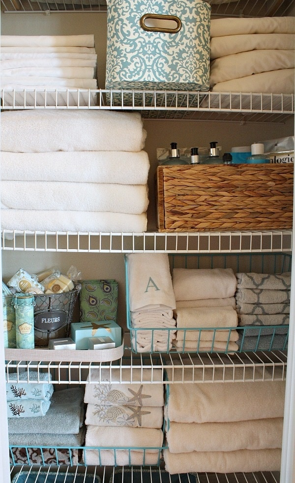 15 Tips And Tricks For Organizing Your Linen Closet Thegoodstuff