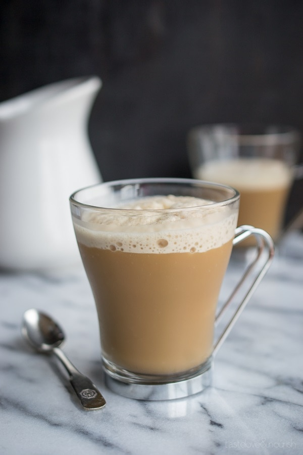 Vanilla Almond Frozen Latte
