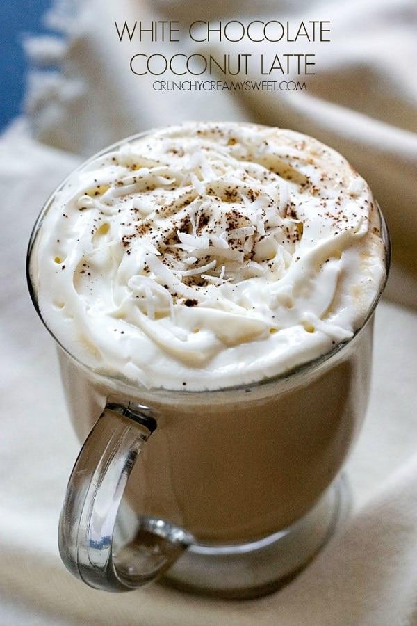 White Chocolate Coconut Latte