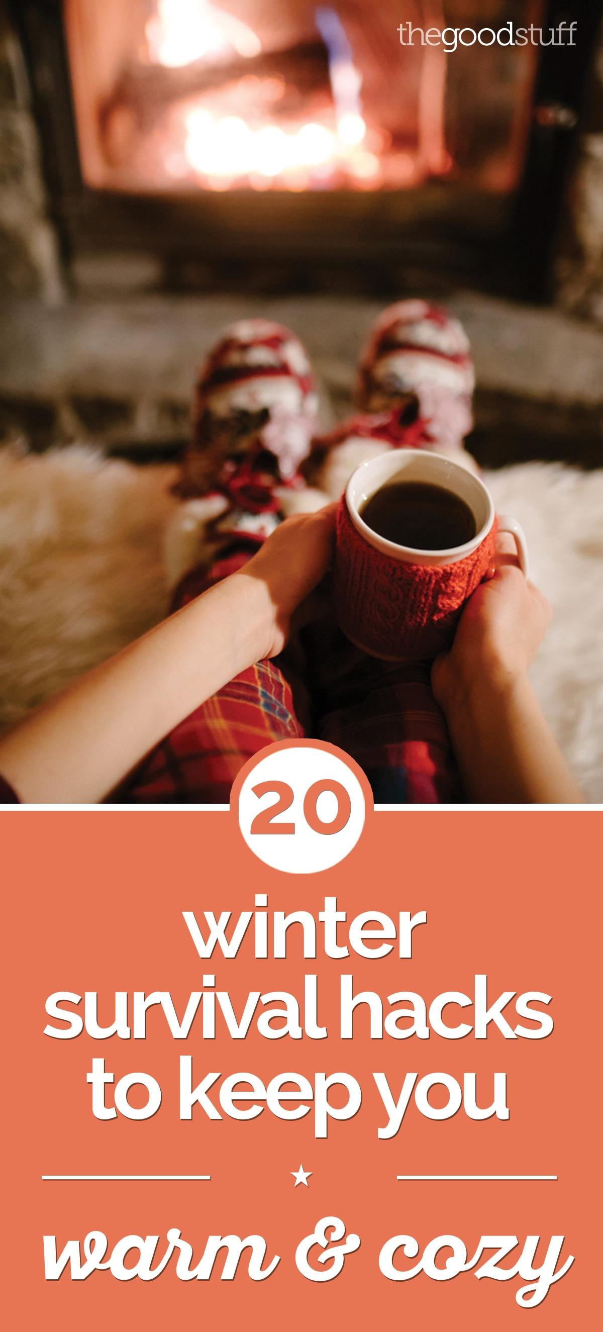 20 Winter Survival Hacks to Keep You Warm & Cozy | thegoodstuff