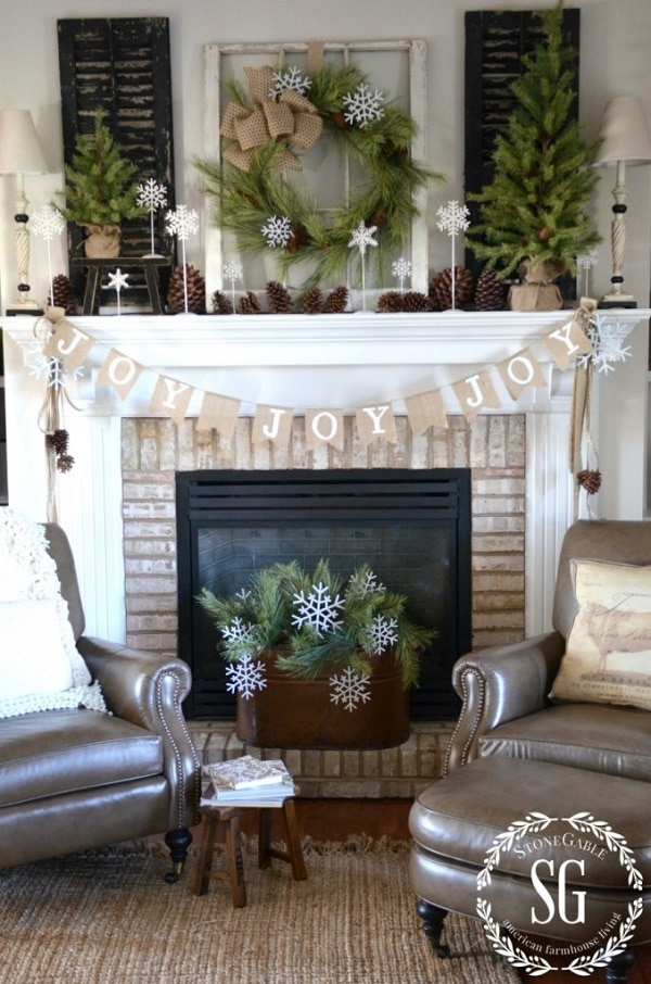 Woodland Mantel