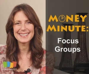 Getting paid for your opinion with focus groups