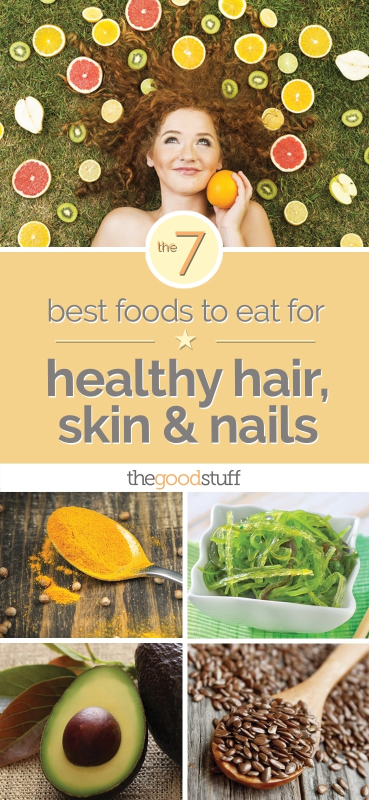 Ready to nosh your way to better hair and skin? You can. Research is now showing that it's possible to influence your looks simply by choosing specific foods. Hair growth (and fallout), skin collagen production, is one of the best natural nutrients for your hair, boosting growth and .