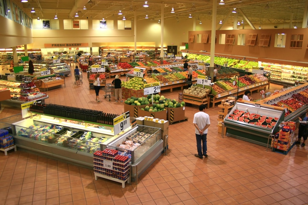 grocery store layout