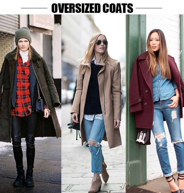 over size coats
