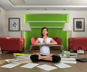 reduce tax paperwork stress