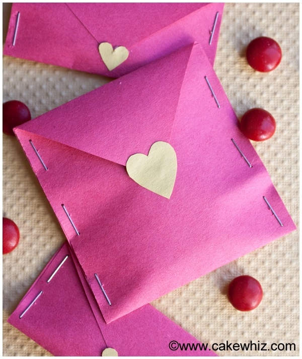 Candy Filled Envelopes