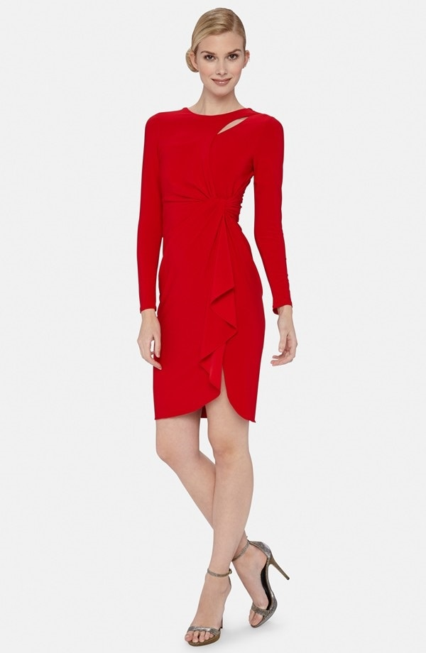 Catherine Malandrino Drape Front Dress
