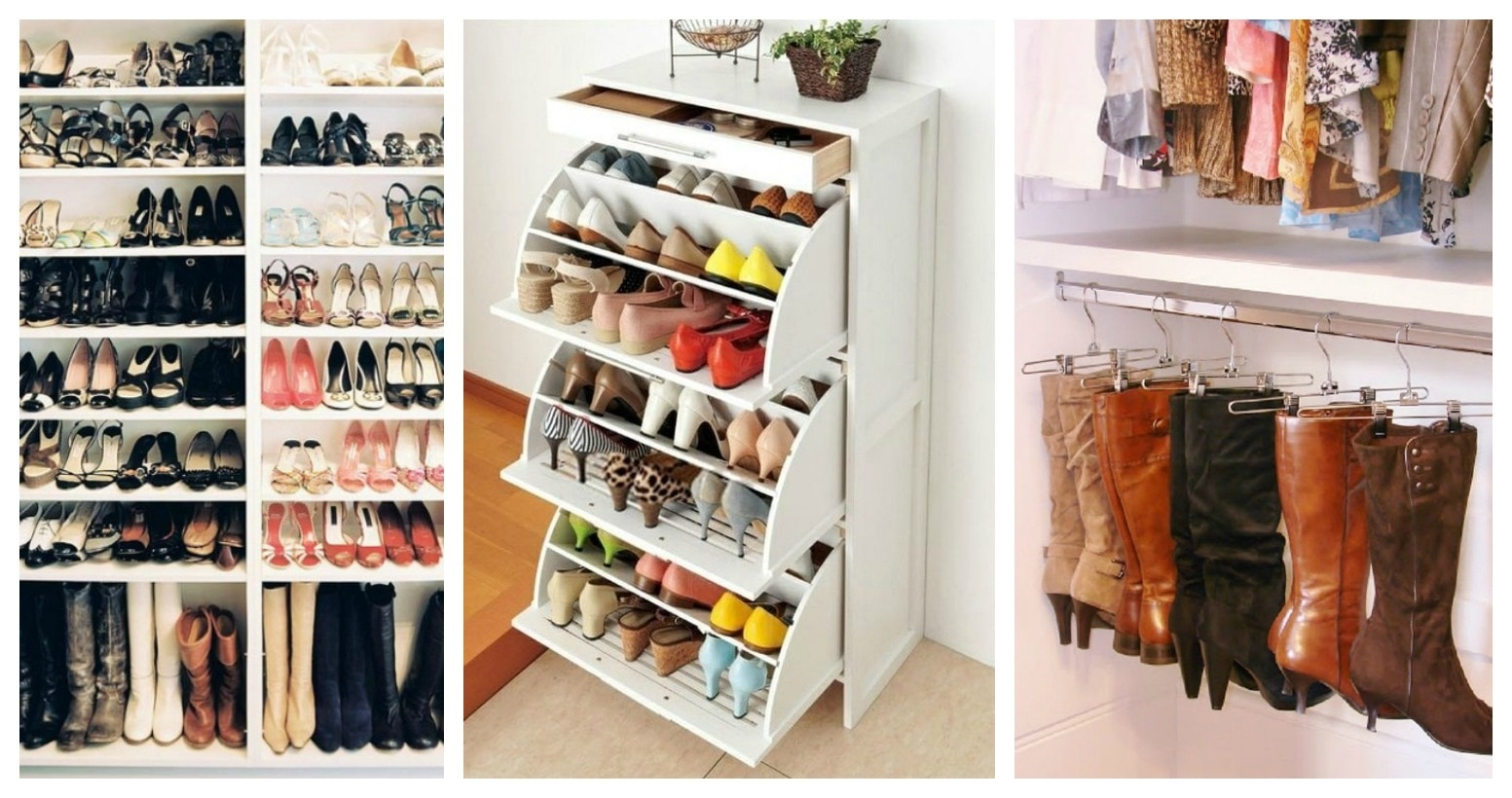 How to Organize Small Bedroom Shoe Storage | thegoodstuff