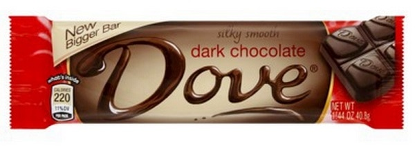 Dove Extra Dark Chocolate Bar