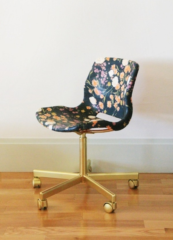 Fabric Covered Office Chair