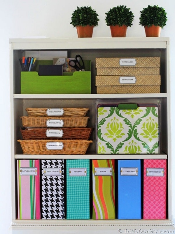 Home hacks 13 foolproof office organization tips for Office organization tips and ideas