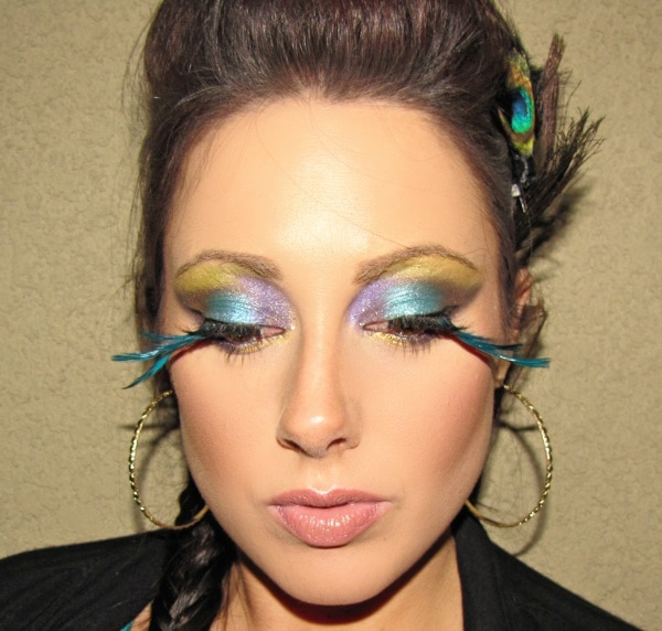 Mardi Gras Tutorial with Flair