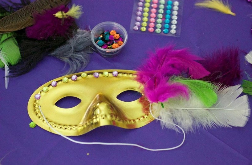 Mask And Bead Crafts