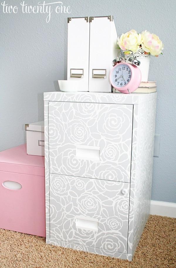Pretty File Cabinet