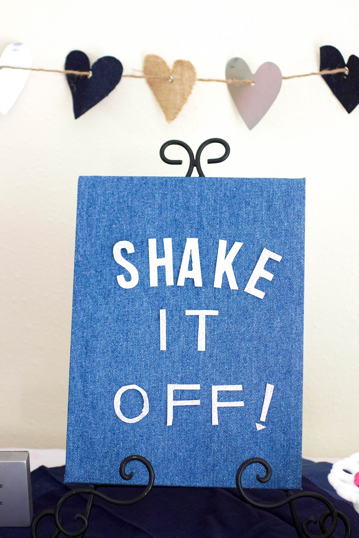 Shake It Off Sign