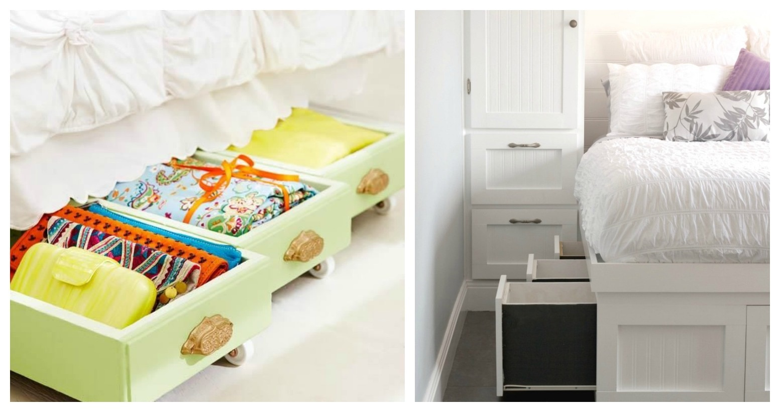 Ideas To Organize A Small Bedroom Part - 42: How To Make The Most Of Small Bedroom Storage | Thegoodstuff