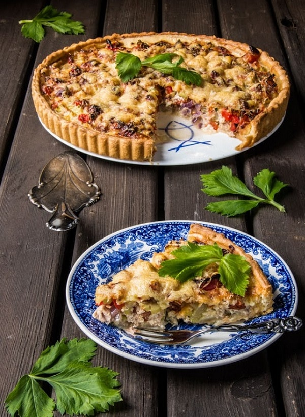Tuna Fish Quiche