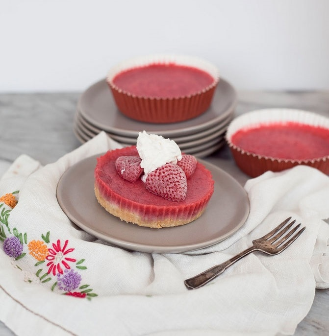 Vegan Strawberry Shortcake Tarts