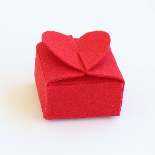 Wrapped Heart Box