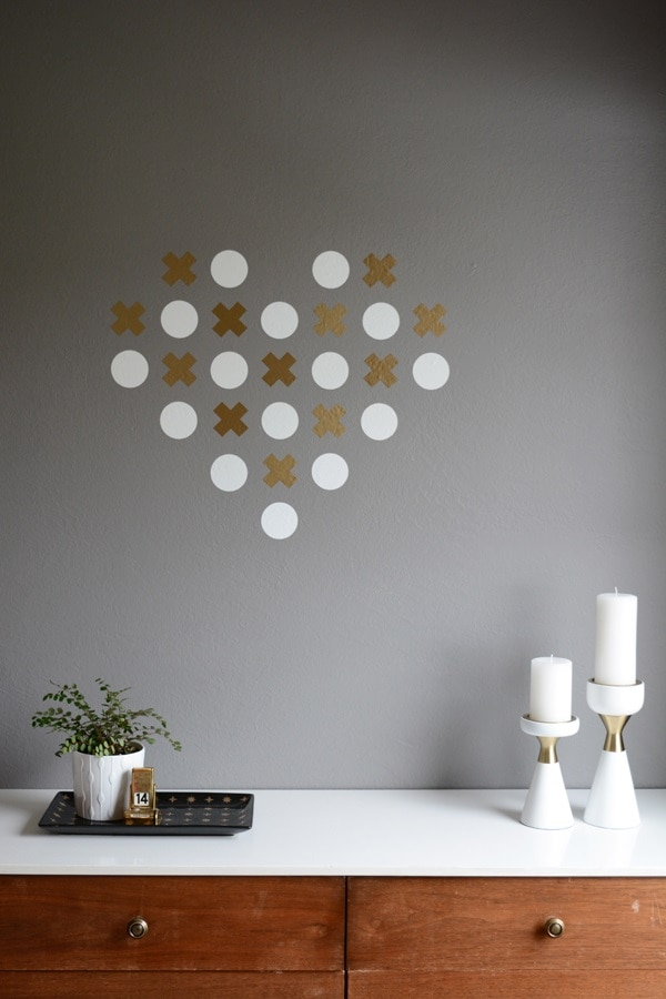 X and O Wall Decal