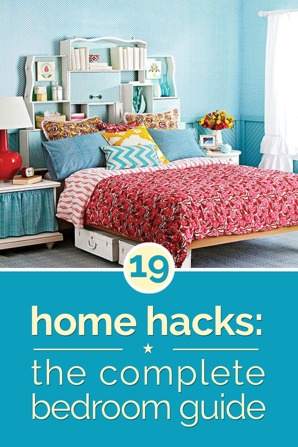 Home hacks 19 tips to organize your bedroom thegoodstuff for Diy for your bedroom
