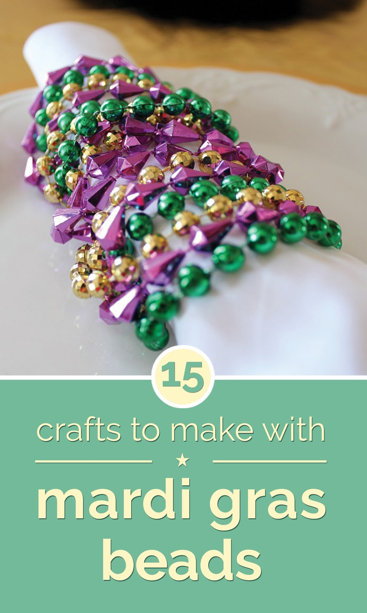 Lovely Mardi Gras Kids Crafts Part - 12: Diy-mardi-gras-bead-crafts